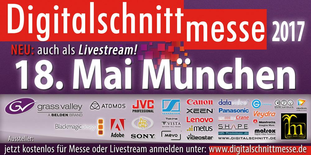 Einladung zur Digitalschnittmesse München am 18.5.2017